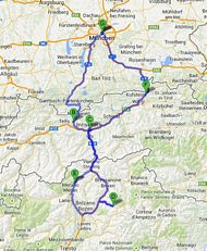 Central European Tours of the Alps and Dolomites in Germany, Austria and Northern Italy